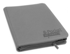 Ultimate Guard Zipfolio XenoSkin - 8 Pocket - grey